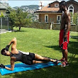 Joseph and Adaeze Yobo share workout photos