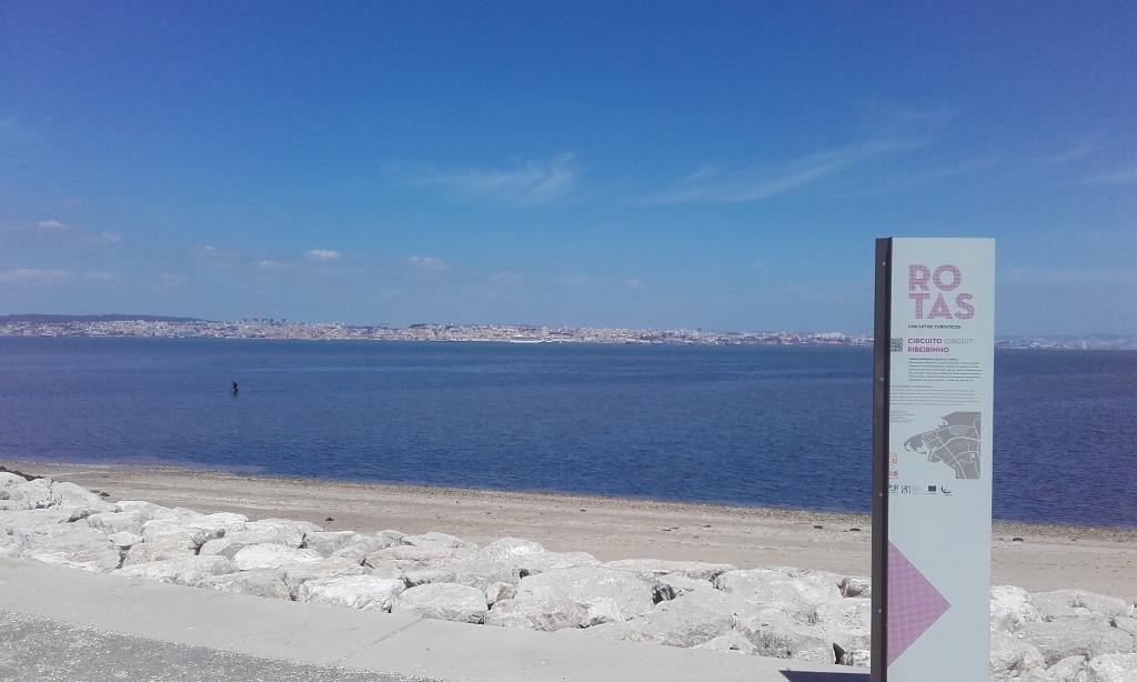Circuito Turístico com vista sobre Lisboa