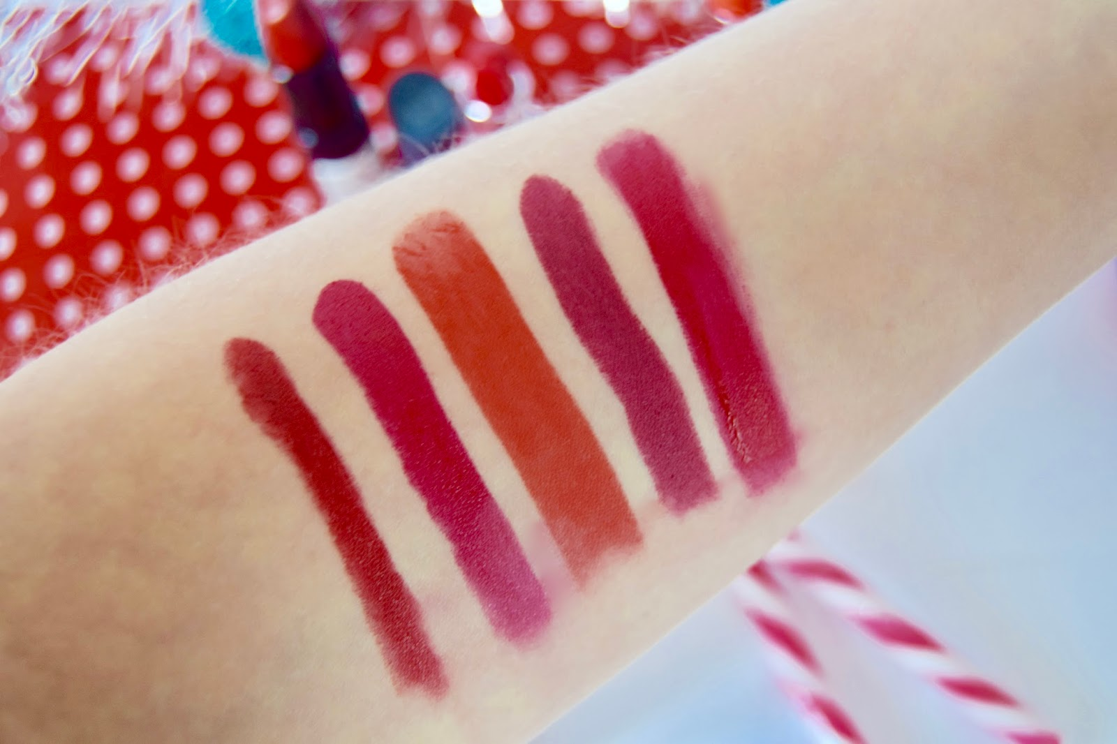 The Christmas Lip Edit Swatches - teabeeblog