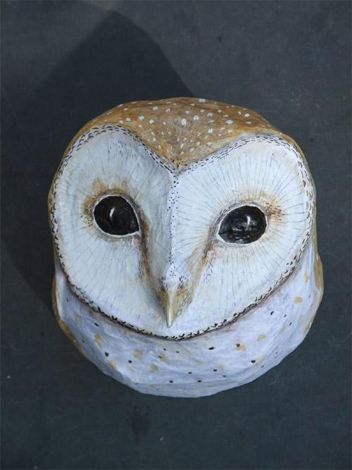 My Owl Barn Emily Warren Papier Mache Animals