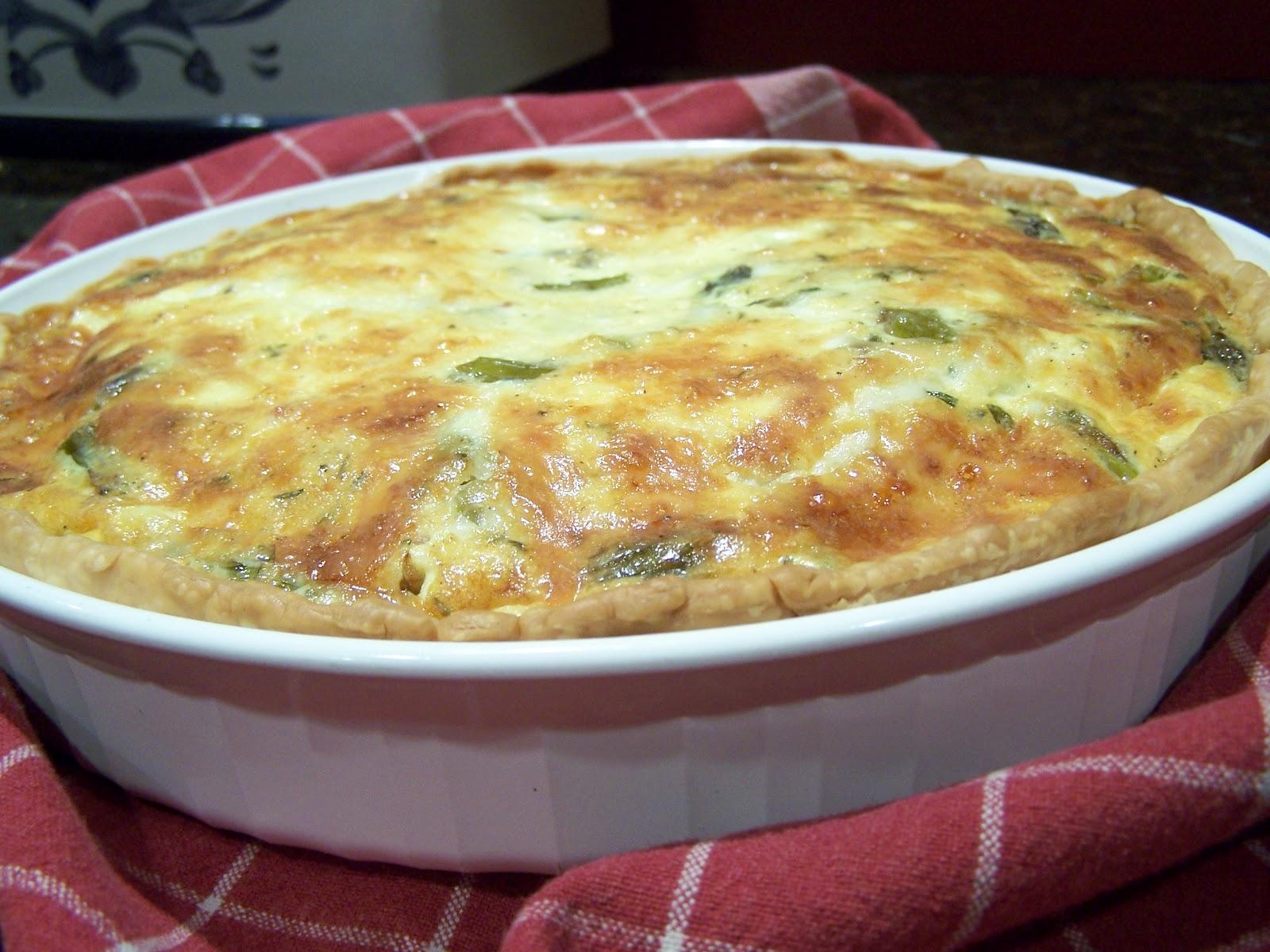 Asparagus Bacon Quiche Recipe Food Network