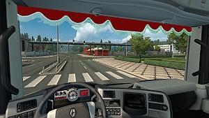 Renault Magnum curtains