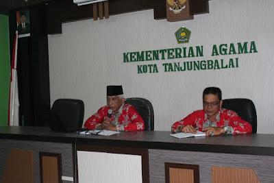 Plt Kakankemenag Tanjungbalai Buka Rapat Rencana Kerja Tahun 2017