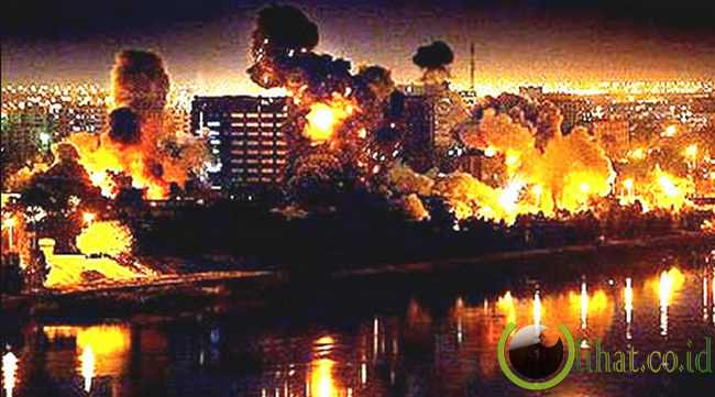 The Bombing of Baghdad