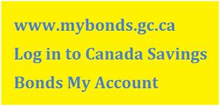 Mybonds.gc.ca Login
