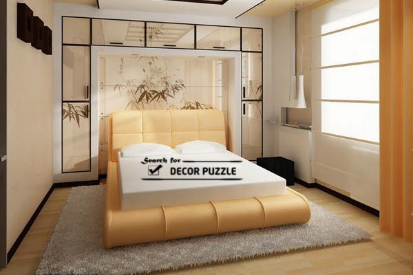 Japanese bedroom furniture Japanese style bed design, luxury upholstered bed frame
