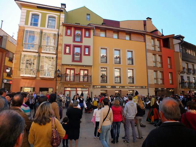calle del centro de Oviedo