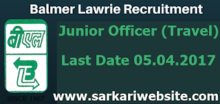 Junior Officer (Travel)