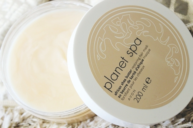 Avon Planet Spa: African shea butter restoring hair mask