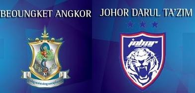 JDT Vs Beoungket Angkor 19 April 2017 Piala AFC