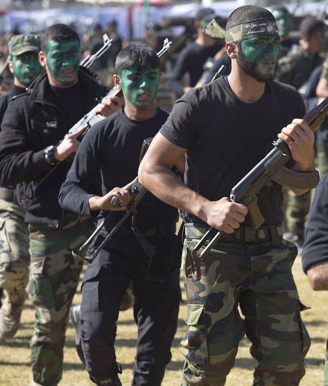 Campo de treinamiento do Hamas em Gaza