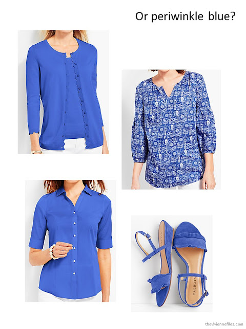 French 5-Piece Wardrobe in Periwinkle Blue