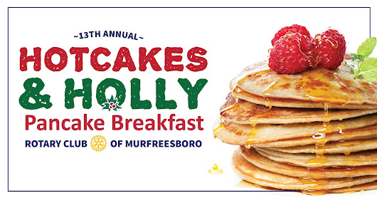 Santa Breakfast Added to Rotary Annual Hotcakes & Holly Fundraiser