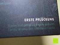 Info: Emerail Premium Grüner Tee - Ziran