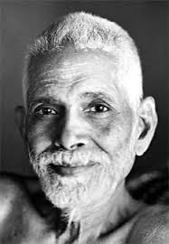 Ramana Maharshi head shot