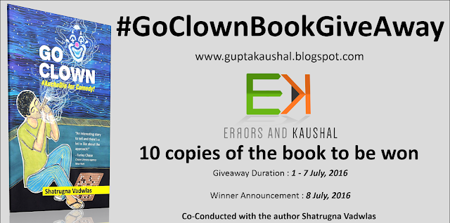 Go Clown - Book Giveaway! 10 Copies to be won, participate now!