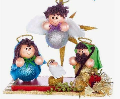 nacimiento-navideño-esferas-goma-eva