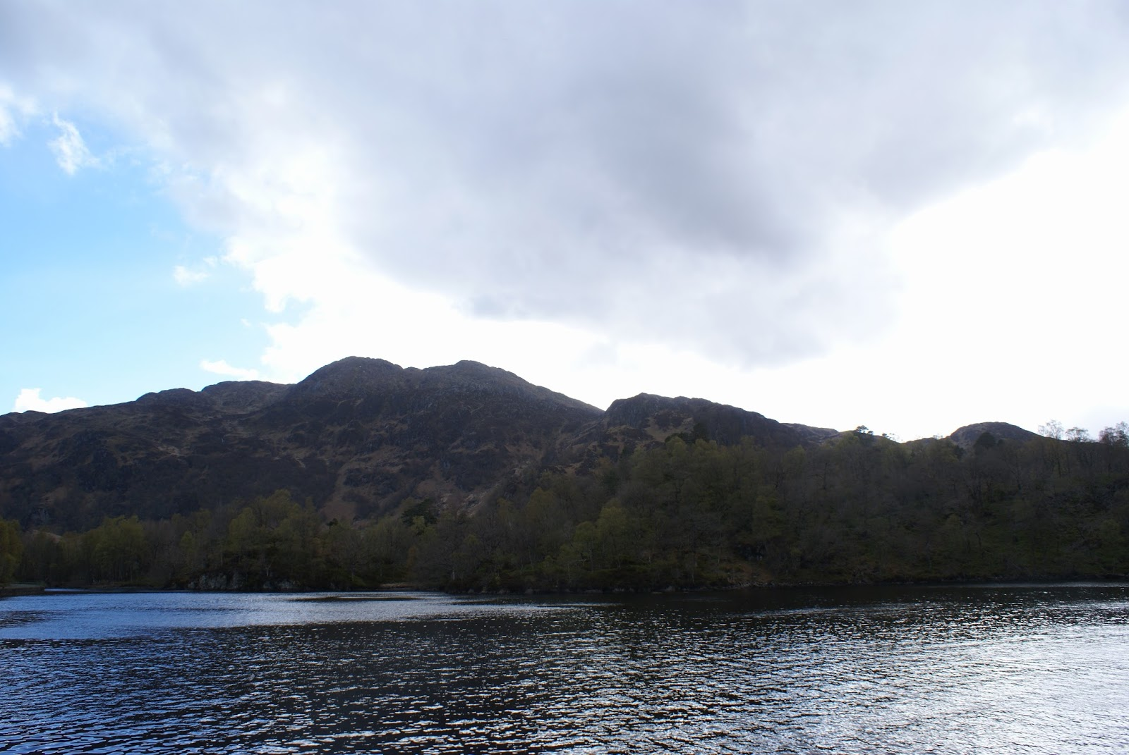 loch katrine trossachs scotland uk