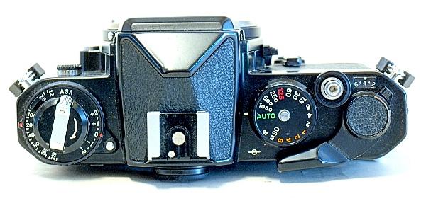 Nikon FE, Top