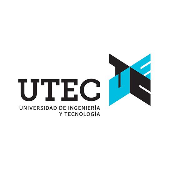 Logo UTEC - Auspiciador III Congreso Internacional de la Industria Plástica, Lima, Perú, abril 2020