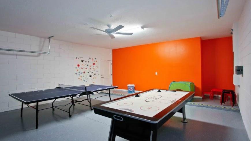 Sala de jogos do condomínio Bella Vida em Orlando