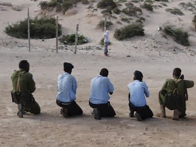 Firing squad execution in Mogadishu on January 6, 2014