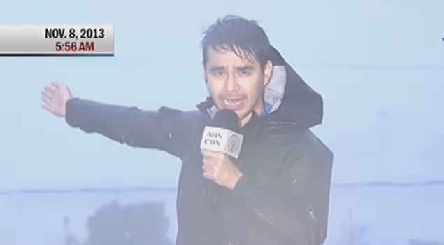 Atom Araullo's daring coverage of super typhoon Yolanda in Tacloban in 2013