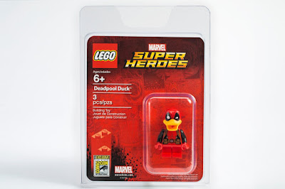 San Diego Comic-Con 2017 Exclusive Deadpool Duck Marvel LEGO Mini Figure