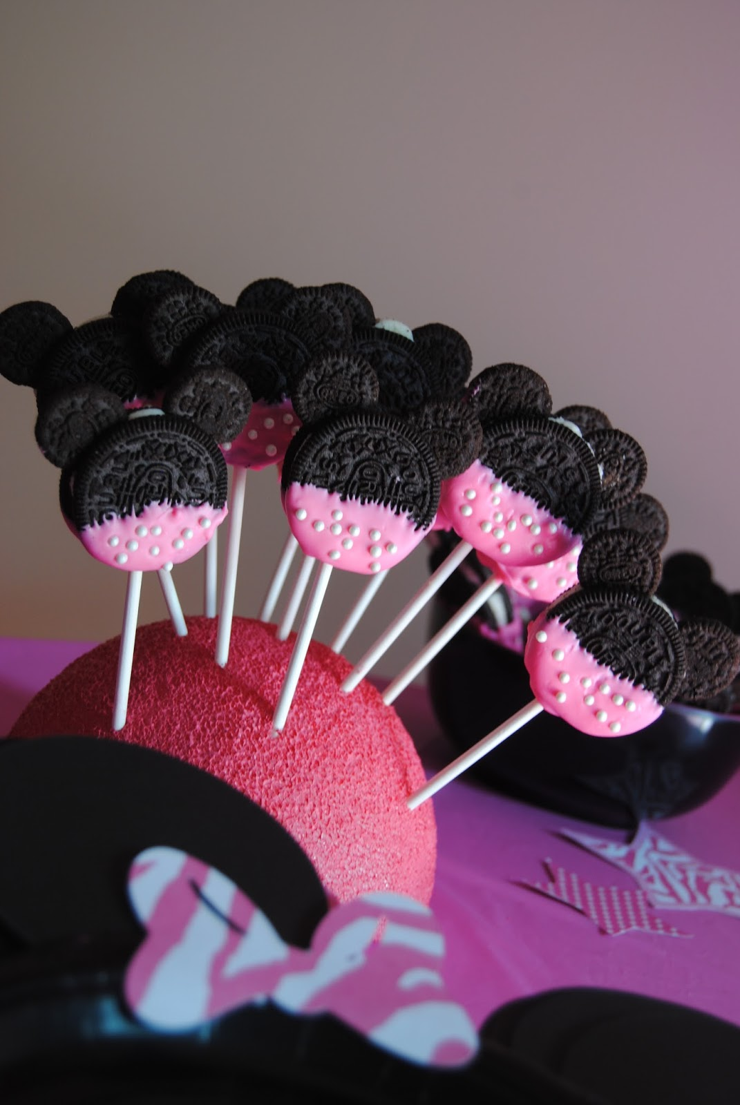 Sweet Southern Mel Lanies 2nd Minnie Mouse Bow Tique Party