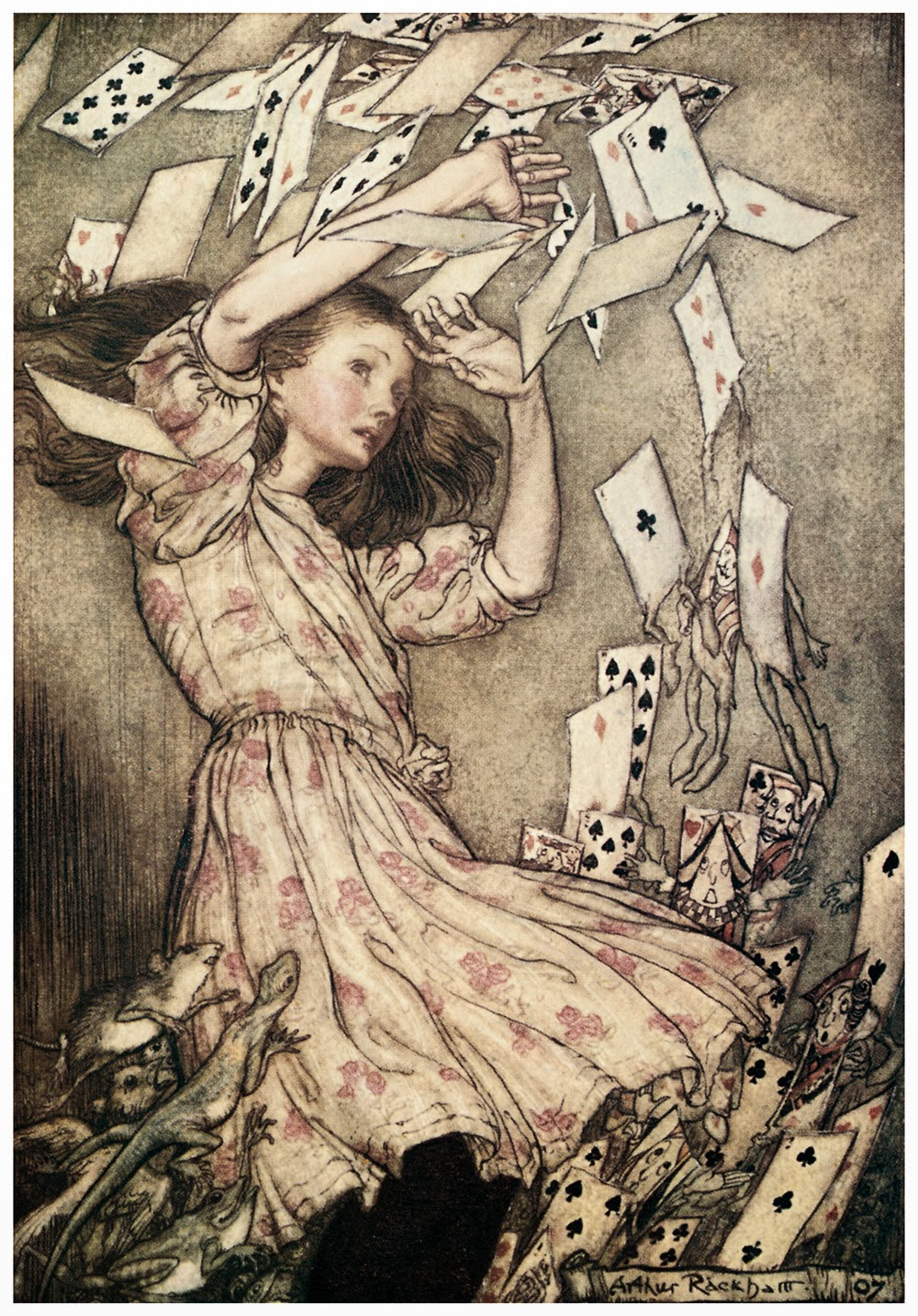 split complementary: Illustration Unit: Arthur Rackham