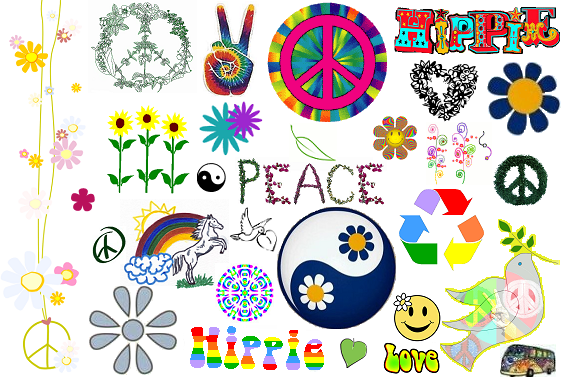 Que Significa Hippie: Epoca Hippie: Simbolismo Hippie