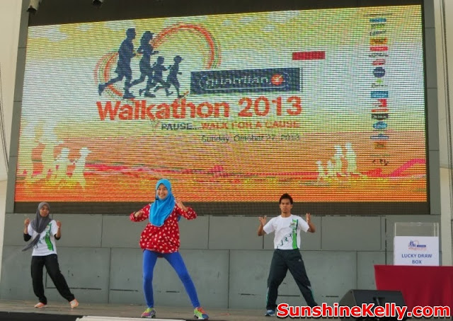 Guardian Walkathon 2013, i-City Shah Alam, Guardian, fitness, exercise