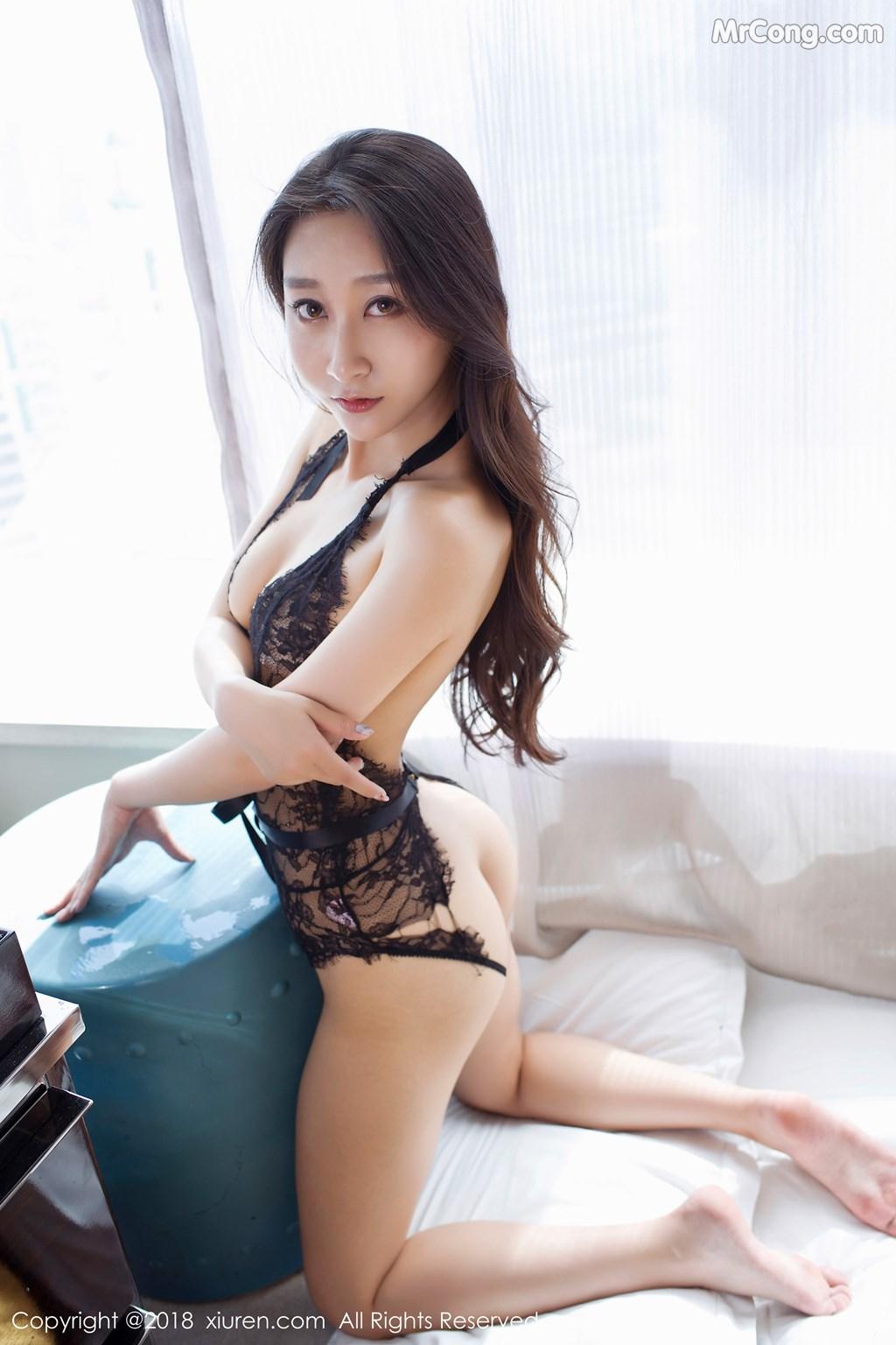 Image XIUREN-No.918-Zhao-Xi-Er-MrCong.com-009 in post XIUREN No.918: Người mẫu Zhao Xi Er (赵熙儿) (48 ảnh)