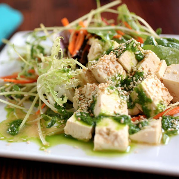 Rezept: Stir Fry mit Zoodles und Sweet Chili Tofu
