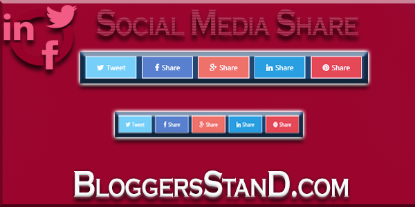 How To Add Social Sharing Buttons Above Post Footer