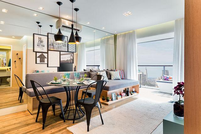 18 trucos para decorar un apartamento muy pequeño