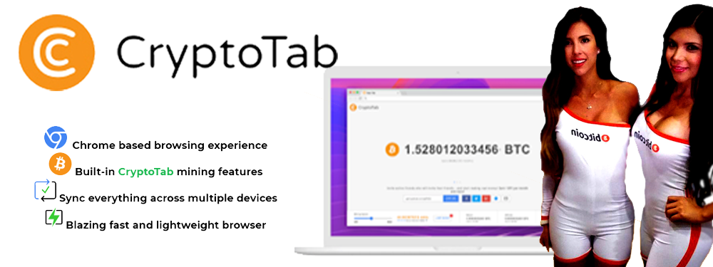 CryptoTab Browser ~ CryptoTab - Free Bitcoin Mining - https