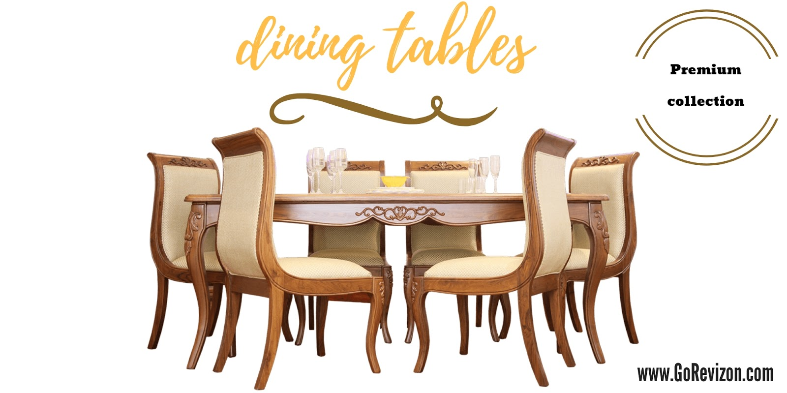 b959bc3392a dining table online India-a Deal by goRevizon.com