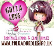 Polkadoodles Paper Crafting Challenge