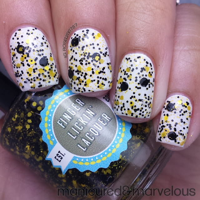 Finger Lickin Lacquer - She Works Hard for the Honey