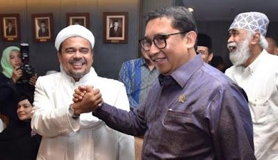 Soal Logo Palu Arit, Fadli Zon Sependapat dengan Habib Rizieq
