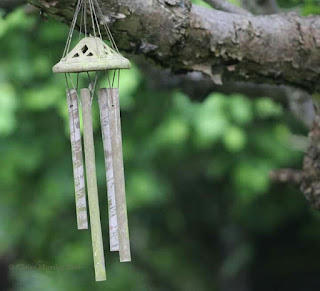 windchime photograph for nature challenge