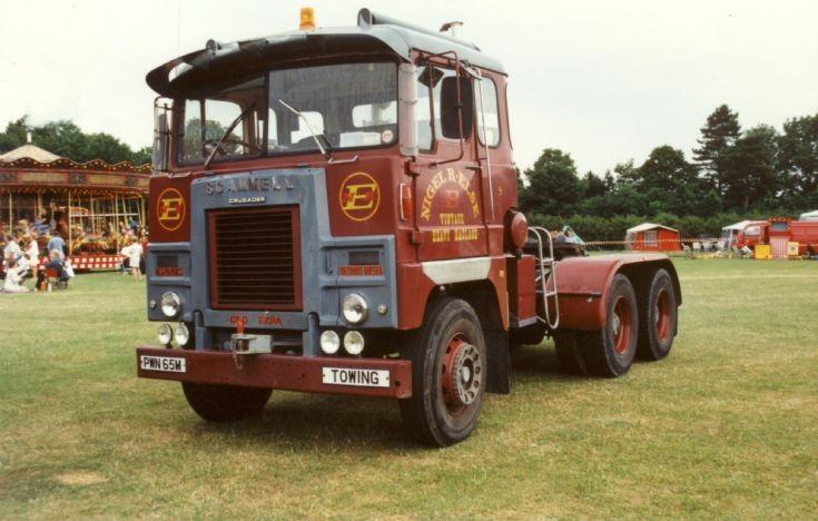 1974 Scammell Crusader Truck