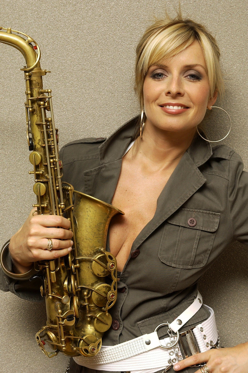 The Amazing Sax Player Candy Dulfer