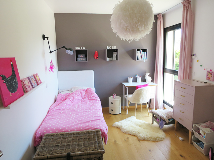 Lovers of mint blog d co boh me et cool lifestyle Chambre fille vieux rose