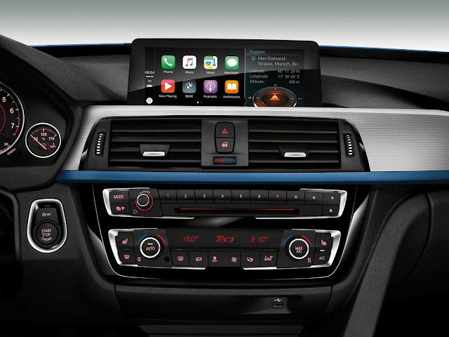 BMW Série 3: iDrive ganha compatibilidade com Apple CarPlay e Android AutoBMW Série 3: preço reduzido e novidades tecnológicas