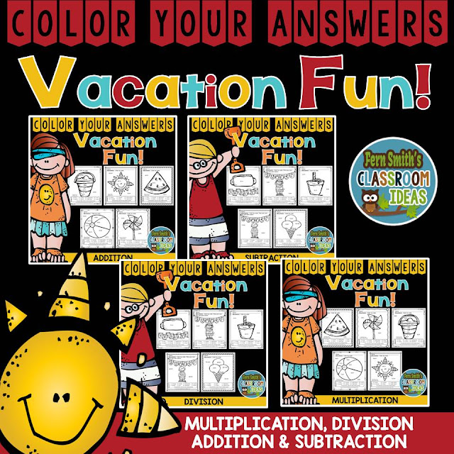 https://www.teacherspayteachers.com/Product/Color-Your-Answers-Vacation-Bundle-2477796