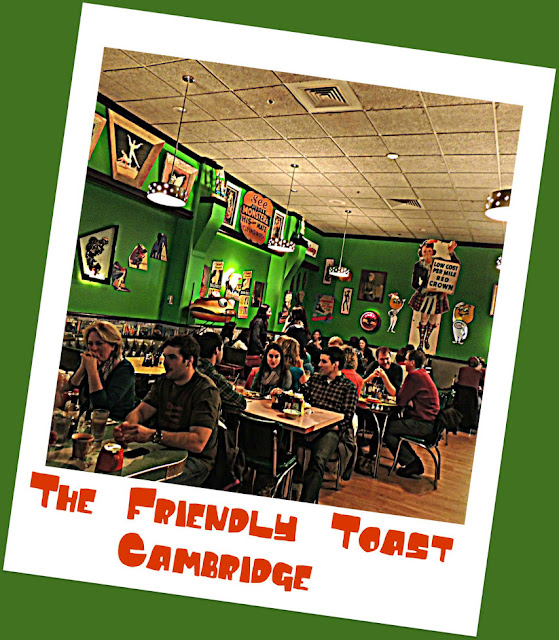 Restaurante The Friendly Toast en Cambridge
