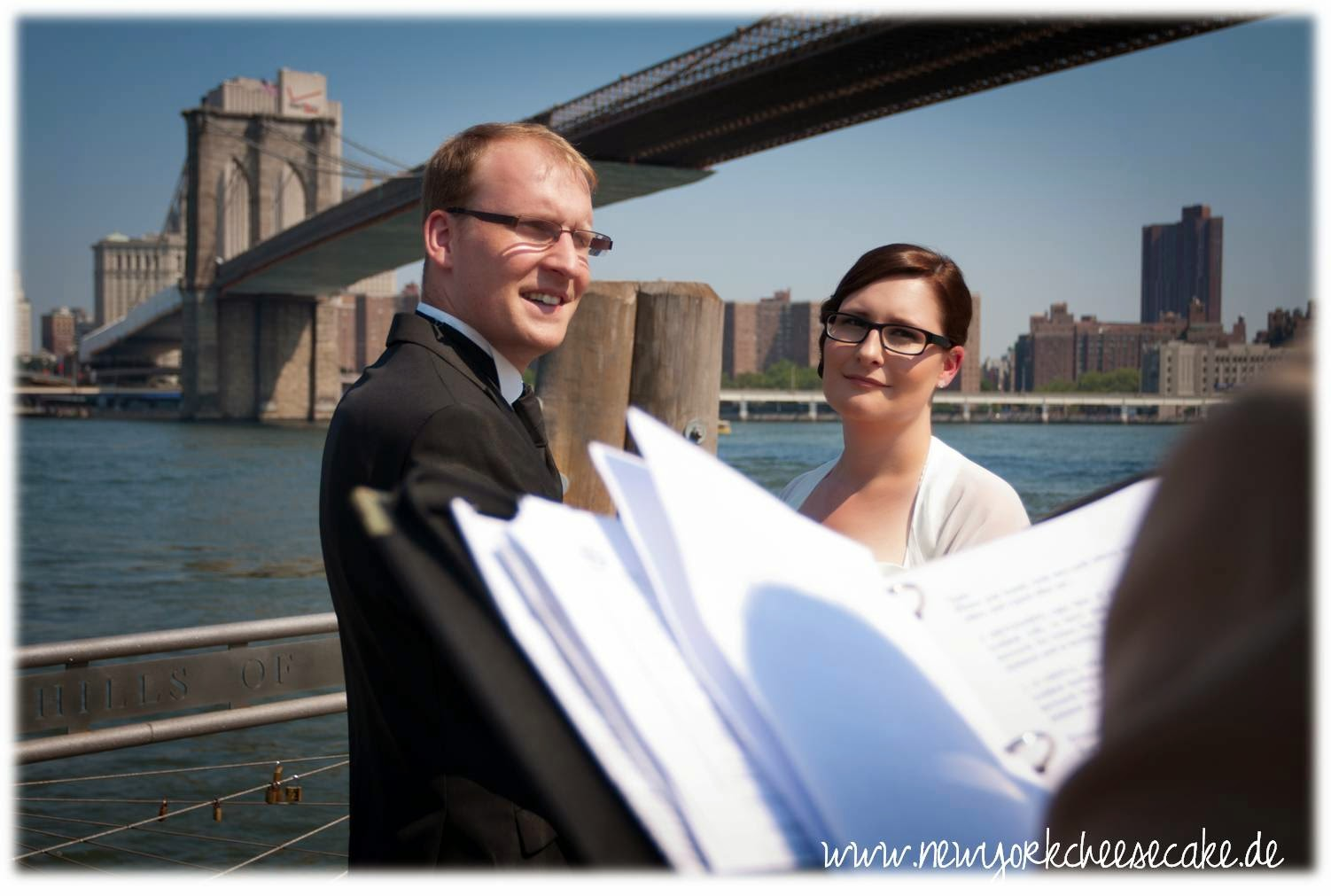 New York, NYC, Brooklyn Bridge, Wedding, Hochzeit