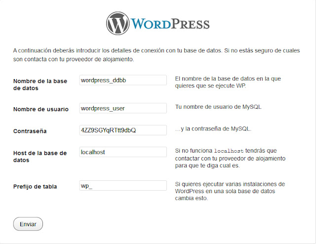 wordpress data